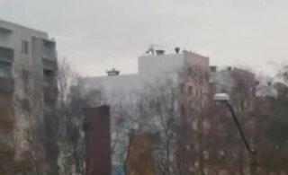 VIDEO | Märulifilmi võtetel tiirutas Lasnamäe kohal helikopter