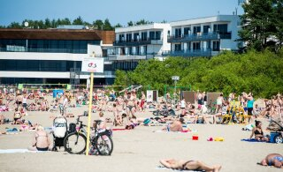 Береговая охрана открывает купальный сезон на пляжах Эстонии