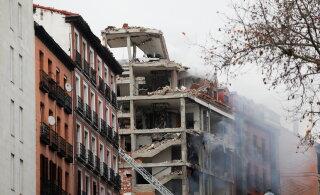ФОТО И ВИДЕО | В центре Мадрида произошел взрыв. Обрушилась часть многоэтажного здания, есть погибшие