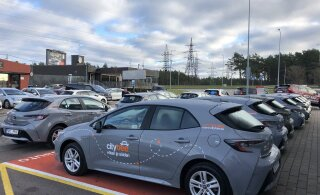 Citybee выведет на улицы Таллинна первые гибридные автомобили с автоматической коробкой