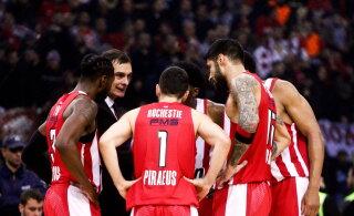 BLOGI | Korvpalli Euroliigas startis uus hooaeg: Olympiakos mängib Žalgirisega, Barcelona võõrustab CSKA-d