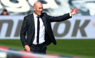 Zinedine Zidane andis positiivse koroonatesti