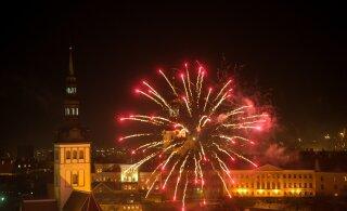 Таллинн может отказаться от традиционного новогоднего салюта в следующем году