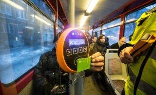 До конца августа водители таллиннского общественного транспорта билеты продавать не будут