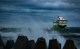 До 30 м/с! На Эстонию надвигается сильный шторм с грозой и дождем