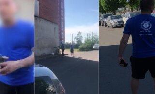 ВИДЕО | В Таллинне мужчина в футболке с логотипом EKRE напал на пакистанца