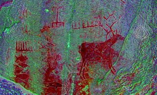 Kaljumaalingud tõestavad, et juba kiviajal rändasid inimesed palju ringi