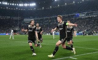 Ajax saab Meistrite liiga poolfinaali avamänguks olulise eelise