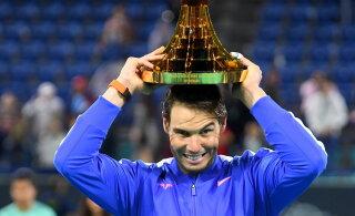 Rafael Nadal: tennis ei ole jalgpall ja siin on ohud hoopis teised