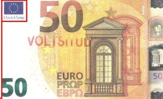 """Осторожно: в Эстонии распространяют поддельные купюры с пометкой """"Movie money"""""""