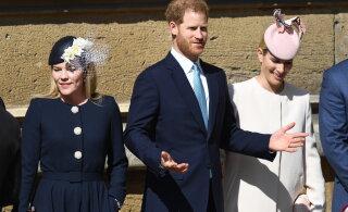 FOTOD | Aga kus on beebi? Prints Harry väisas kuninganna Elizabethi sünnipäevatseremooniat, Meghanit ei paistnud kuskilt