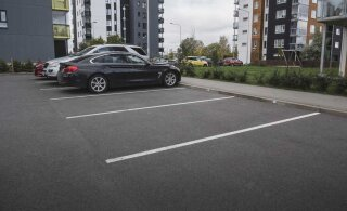 Автомобилей в Таллинне все больше: проблемам с парковкой не видно конца и края