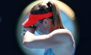 Maria Šarapova sai pika võistluspausi järel esimese võidu
