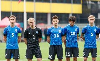 Молодой эстонский талант забил два мяча в Англии