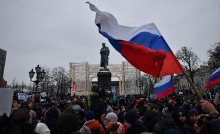 По всей России проходят митинги за Навального, как реагирует полиция и ОМОН