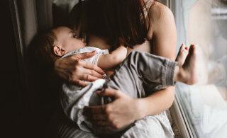 Just nii kaua peaksid tegelikult oma last rinnapiimaga toitma