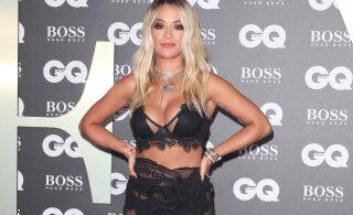 KUUMAD KLÕPSUD   Rita Ora jagas endast alasti fotosid