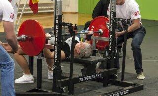 Eesti meistrivõistlustel jõutõstmises tehti naiste osavõturekord