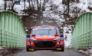 OTSEBLOGI | Tänak kaotas jääl sõites aega ja langes esikolmikust välja, Rovanperä asus Monte Carlo rallit juhtima