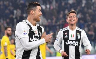 Juventuse ründaja jaoks on Ronaldo üllatuse pakkunud: ta osutus tavaliseks kutiks