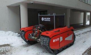Tartu linn tahab tuua robotid lund lükkama ja tänavaid koristama