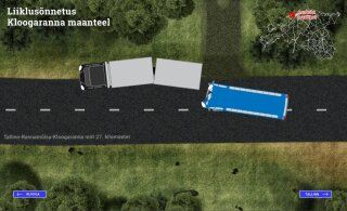 РЕКОНСТРУКЦИЯ: Как произошла тяжелая авария на Клоогаранна теэ