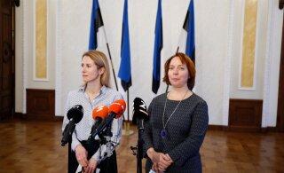 VIDEO, FOTOD ja BLOGI | Koalitsioonikõnelused jätkuvad: Kallas ja Reps nentisid, et Eesti maine on viimase kahe aastaga kahjustada saanud