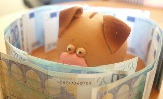 Seitse nippi, kuidas ka väikse sissetuleku juures sääste koguda