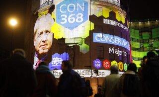 На досрочных выборах в британский парламент лидируют тори