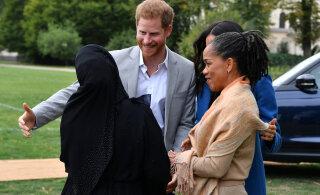 Beebipalavik täies hoos! Meghani ema Doria jõudis Inglismaale, põhjalikult valmistunud pikemaks peatumiseks