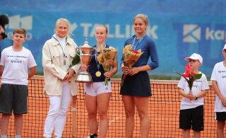FOTOD | Elena Malõgina krooniti esmakordselt Eesti tennisemeistriks