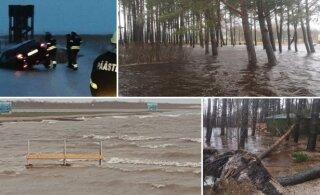 ФОТО: Западную Эстонию затопило