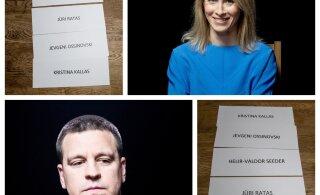 FOTOÜLEVAADE| Kellega erakondade juhid sõbrustaksid, kelle järgmisest valitsusest välja jätaksid