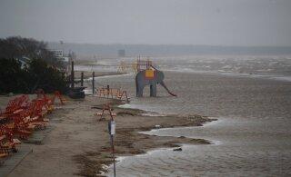На Эстонию наступает очередной шторм: на выходных ветер может быть очень сильным