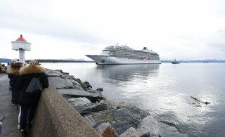 Лайнер Viking Sky прибыл в порт