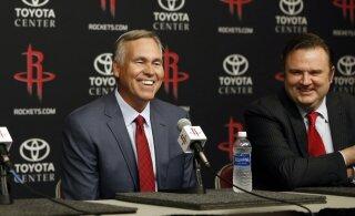VIDEO | Henri Drelli Bundesliga debüüti jälgis kohapeal Houston Rocketsi peamänedžer