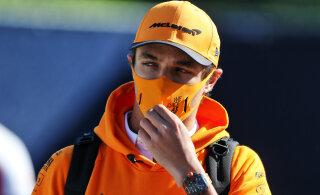 Norrisele määrati enne pühapäevast F1-etappi karistus