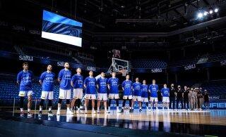 Võib tulla negatiivseid üllatusi: korvpallikoondis valmistub viisalahinguks