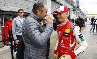 Endine vormelisõitja hurjutas Ferrarit ja kiitis noori talente