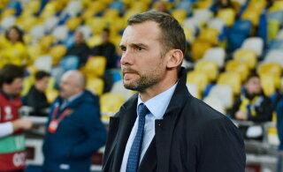 Andrei Ševtšenko Eestiga maavõistluse eel: seni vähem mänginud pallurid saavad võimaluse end näidata