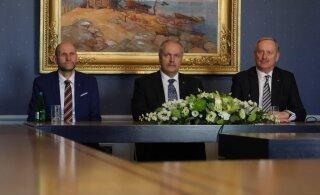 Спикер Рийгикогу выразил надежду, что приграничная торговля в Латвии завершится и финские туристы вернутся в Эстонию