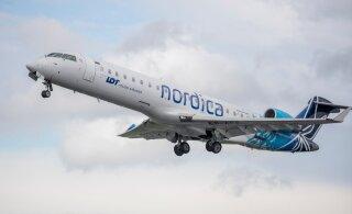 Рейс Nordica Таллинн-Одесса вынужден был совершить посадку в Кишиневе