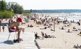 Järgmisel nädalal saabub rannailm: õhutemperatuur ulatub kuni 27 kraadini