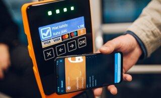 Ühistranspordis saab tänasest ka telefoniga valideerida