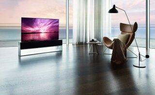 Lõpuks ometi: müügile jõudis teler, mille ekraan on kokkurullitav!