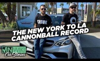 Rekord: reisiseltskond sõitis uskumatu kiirusega USA ühelt rannikult teisele