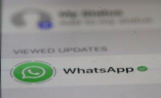 Facebook mõtles lõpuks välja, kus WhatsAppis reklaame näidata