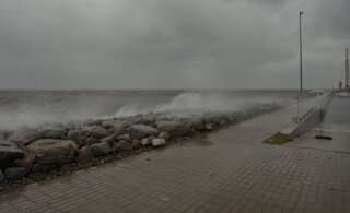 Sünoptik Kairo Kiitsak: tormituul hakkab nõrgenemise märke näitama alles pärast keskööd