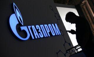Venemaa gaasimonopol põrkus Euroopas raskustega, tunnistas, et neil on tekkinud tõsine konkurent