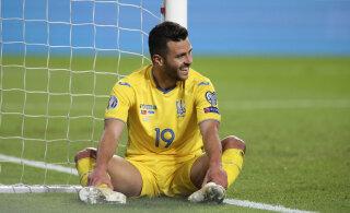 Ukraina koondist ähvardab valus punktikaotus: kas debüüdi teinud mängija poleks tegelikult tohtinud platsil olla?